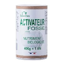 Produit Deboucheur - Desodorisant Canalisation - Entretien Canalisation 3 ABEILLES Activateur fosse - Nutriment pour fosse septique - 400 g