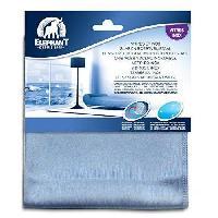 Produit Lave-vaisselle - Sel Regenerant - Liquide De Rincage 3 Lavettes Microfibre Vitr'inox - Vitres et Miroirs