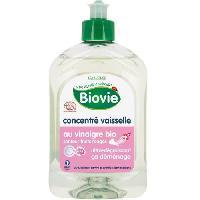 Produit Nettoyage Pour La Vaisselle A La Main Concentre vaisselle au vinaigre - Bio - 500 ml - Ultra-degraissant