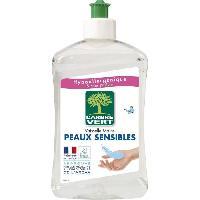 Produit Nettoyage Pour La Vaisselle A La Main Liquide Vaisselle - Peaux Sensible - 500 ml