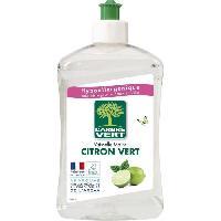 Produit Nettoyage Pour La Vaisselle A La Main Liquide Vaisselle Main Citron Vert 500 ml