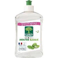 Produit Nettoyage Pour La Vaisselle A La Main Liquide VaisselleMains Menthe-basilic 500 ml