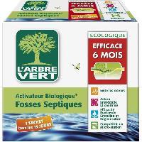 Produit Nettoyage Pour Wc Activateur Biologique pour Fosses Septiques 420 g