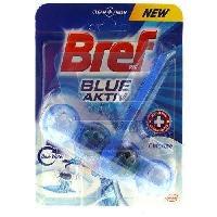 Produit Nettoyage Pour Wc BREF WC Lavande 4 en 1 Blue Active - Eau Bleue - 50 g