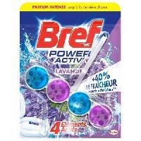 Produit Nettoyage Pour Wc BREF WC Lavandes 4 en 1 Activ' - 50 g
