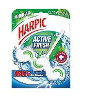 Produit Nettoyage Pour Wc HARPIC Bloc WC Active Fresh - Fraicheur des bois