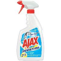 Produit Nettoyage Salle De Bain AJAX Nettoyant sanitaire anti-calcaire Shower Power - 750ml