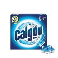 Produit Specifique Electromenager CALGON TA9 Paquet de 17 tablettes anti-calcaire pour lave-linge - Tabs 2 en 1