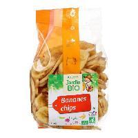 Produits Sales Aperitif Bananes chips bio - 150 g