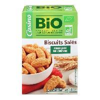Produits Sales Aperitif Biscuits chevre - Biologique - 75 g