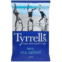 Produits Sales Aperitif Chips au sel de mer 150 g Tyrrells Tyrrell's