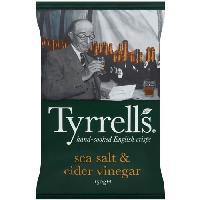Produits Sales Aperitif Chips au vinaigre de cidre 150 g Tyrrells Tyrrell's