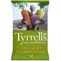 Produits Sales Aperitif Chips melange legumes 0.150 KG Tyrrells Tyrrell's