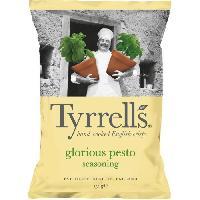 Produits Sales Aperitif Chips pesto parmesan 150 g Tyrrells Tyrrell's