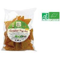 Produits Sales Aperitif JARDIN BIO Chips tortillas paprika sans gluten bio - 25 g