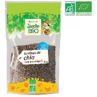 Produits Sales Aperitif JARDIN BIO Graines de chia bio - 100 g