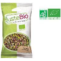 Produits Sales Aperitif LA MAISON DES BISTROS NATURE Pistaches décortiquées bio - 100 g - Generique