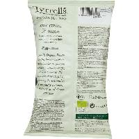 Produits Sales Aperitif TYRRELL'S Chips de pommes de terre Lisses Sachet de Creme et oignons - BIO - 110 g