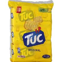 Produits Sales Aperitif Tuc Original Triopack 3x100g - Lu Petit Dejeuner