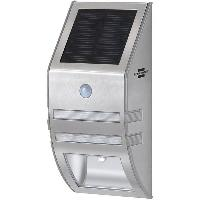 Projecteur Exterieur Lampe Led solaire SOL WL 02007 avec PIR et capteur crepusculaire