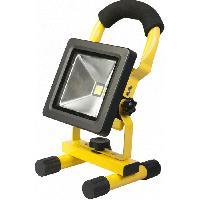 Projecteur Exterieur Projecteur Led Portatif Rechargeable 10W Mr_Safe