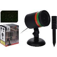 Projecteur Laser Exterieur Noel - Projecteur Laser Exterieur Halloween - Projecteur Laser Exterieur Fete Laser sur stick - Assortiment 2 couleurs