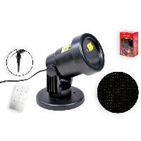 Projecteur Laser Exterieur Noel - Projecteur Laser Exterieur Halloween - Projecteur Laser Exterieur Fete Projecteur laser de Noel noir avec telecommande