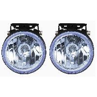 Projecteurs 2 Phares Additionnels - Longue Portee - Bleu