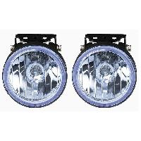 Projecteurs 2 Phares Additionnels - Longue Portee - Bleu ADNAuto