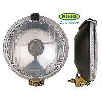 Projecteurs 2 Projecteurs ronds avec cache -RALLY GIANTS- longue portee RL030C Ring
