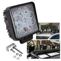 Projecteurs Feu LED offroad - 27W 1224V Blanc ADNAuto