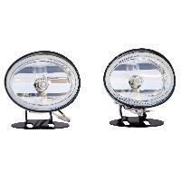 Projecteurs Feux de route et antibrouillard ronds H3 12V 55W Carplus