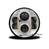 Projecteurs Projecteur a LED 7pouces 175mm rond avec homologation europeenne