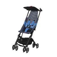 Promenade-voyage GB Poussette Gold Pockit Air All Terrain Night - Bleu Aucune