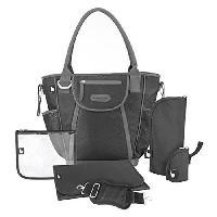Promenade-voyage Sac a Langer Daily Bag Black