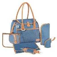 Promenade-voyage Sac a Langer Style Bag Blue Navy