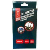 Protection - Entretien 5x Lingettes ecrans tactiles GPS Smartphones