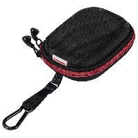 Protection - Entretien HAMA EARA506 Pochette pour casque intra-auriculaire - Noir