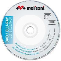 Protection - Entretien MELICONI Disque nettoyant pour lecteur DVD et Blu Ray