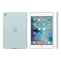 Protection - Personnalisation - Support APPLE Coque de protection en silione pour iPad mini 4 - Turquoise