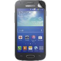 Protection - Personnalisation - Support BIGBEN Lot 2 protege-écrans One Touch pour Samsung Galaxy Ace 3 S7270 - Transparent - Bigben Connected