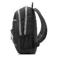 Protection - Personnalisation - Support HP Sac a dos pour ordinateur portable Active Backpack - 15.6 - Noir et Vert menthe