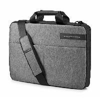 Protection - Personnalisation - Support HP Sacoche pour ordinateur portable - Signature Slim Topload - 17.3 - Noir / Gris