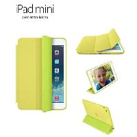 Protection - Personnalisation - Support IPAD MINI RETINA SMART CASE Jaune