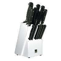 Protection Des Couteaux - Housse - Mallette - Bloc SP Bloc couteau Blade - 15 pieces - Blanc