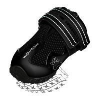 Protection Des Pattes -guetres - Chaussures - Chaussettes TRIXIE Bottes de protection Walker Active 2 pieces L - Noir - Pour chien