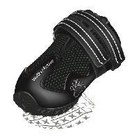 Protection Des Pattes -guetres - Chaussures - Chaussettes TRIXIE Bottes de protection Walker Active 2 pieces L-XL - Noir - Pour chien