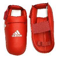 Protection Du Sportif ADIDAS Protege pieds de karate - Rouge - XS