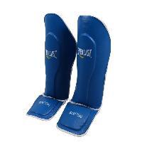 Protection Du Sportif EVERLAST Proteges Tibias - Bleu 10 - Taille unique Wilson