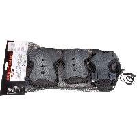 Protection Du Sportif NIJDAM Lot de 3 paires de protections de rollers - Mixte - Taille L